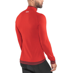 GORE WEAR Light Thermo Shirt Men red/chestnut red